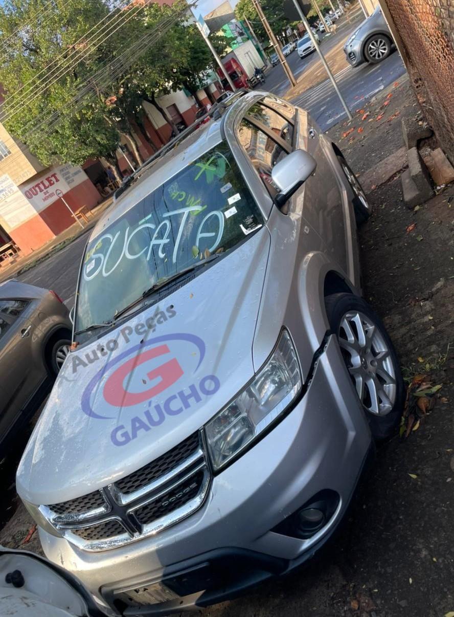 SUCATA DODGE JOURNEY RT 2013 3.6 V6  24V 280 CV GAS. CÂMBIO AUTOMÁTICO