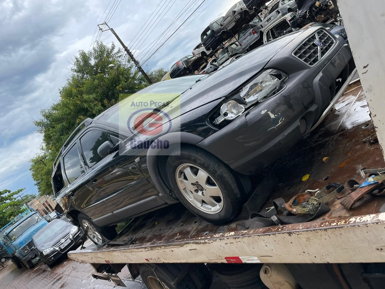 SUCATA VOLVO XC70  CROSS COUNTRY 2.5 TURBO 2004 4X4 AWD  20V 210CV CÂMBIO AUTOMÁTICO.