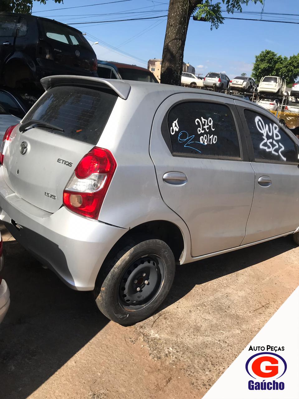 SUCATA ETIOS 2017 1.5 107CV FLEX CAMBIO AUTOMATICO