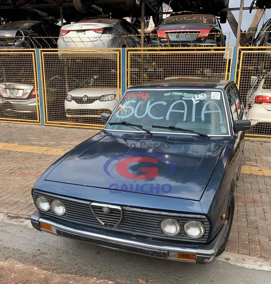 SUCATA ALFA ROMEO 2300 Ti4 1985 CÂMBIO MANUAL