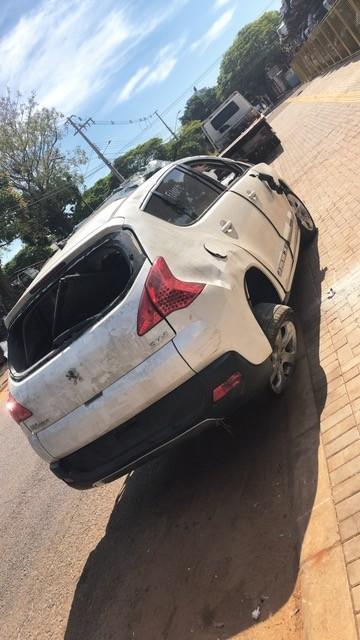 SUCATA PEUGEOT 3008 ANO: 2011/12 GASOLINA CAMBIO: AUTOMATICO