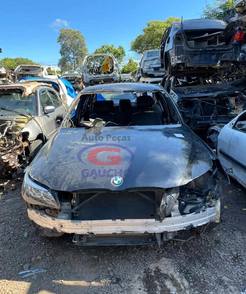 SUCATA  BMW 550i NW51 SECURITY 2009 4.8 V8 367 CV 32 V GAS. CÂMBIO AUTOMÁTICO.