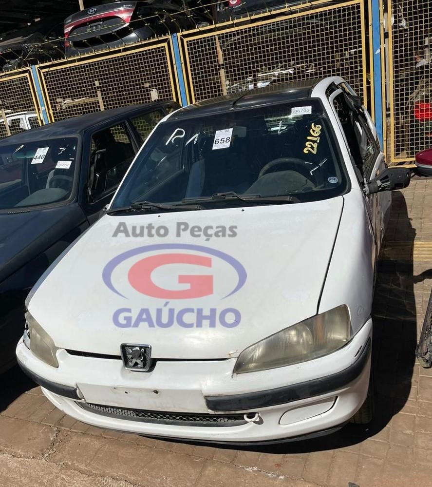 SUCATA PEUGEOT 106 SOLEIL 2000 1.0 GAS 8V 50CV CÂMBIO MANUAL