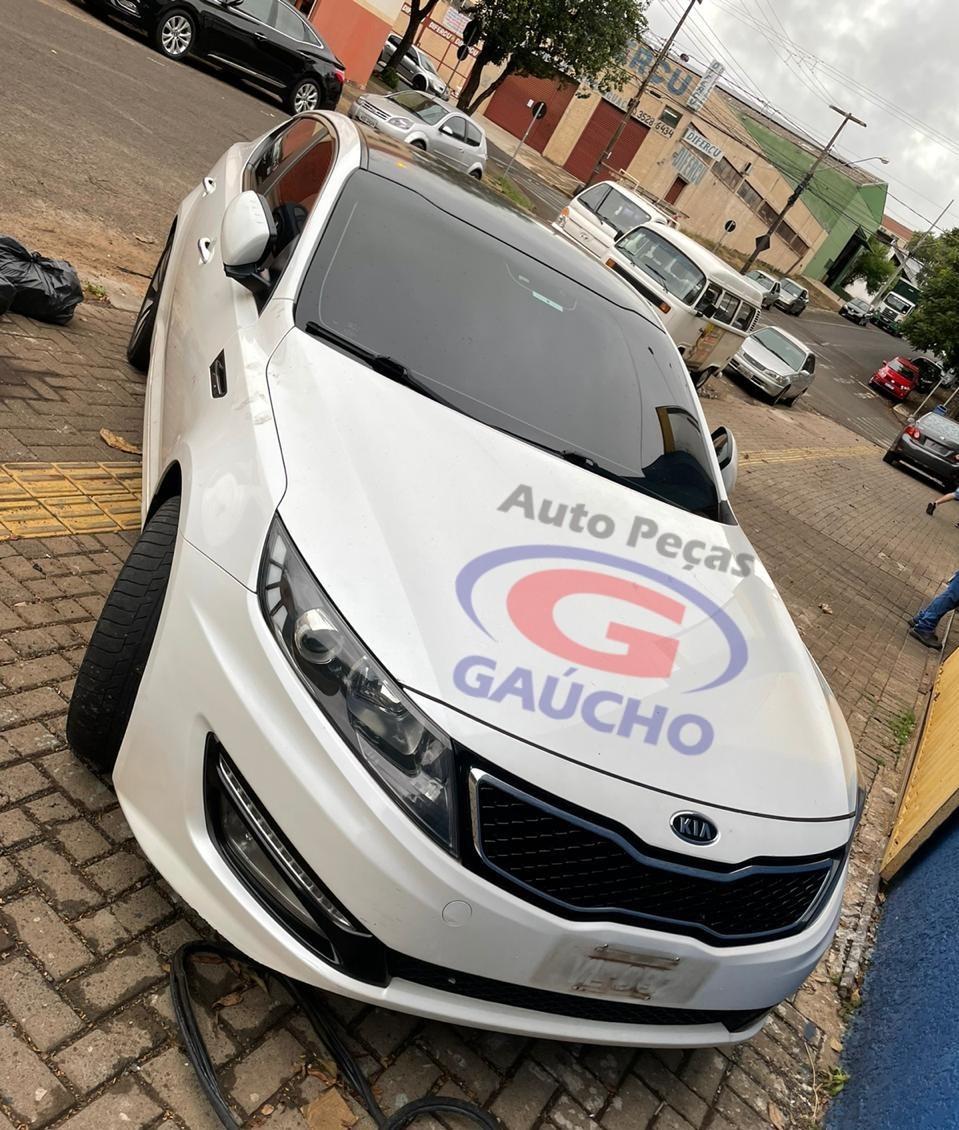 SUCATA KIA OPTIMA 2013 2.4 GAS. 16V, 180CV, CÂMBIO AUTOMÁTICO.